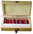 5pc Woodworking Router Bit Set