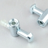 steel with zinc plated quick connector