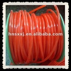 red silicone tube