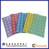 A4 Size Colored Sticker Paper