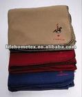 "Blanket 50""x60"" Fleece Soft Light & Warm"