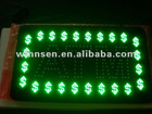 Outdoor or Indoor ATM Flashing LED Banner