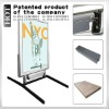 LED light box with li-lon battery,13hours working by one charge,key lock protection stolen