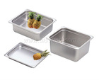 304 or 201 one third (1/3) stainless steel salad bar display