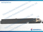 steel deck barge in stock