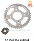 CG150 Motorcycle Chain Sprocket