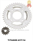 TITAN99 43T+14T Motorcycle Sprocket