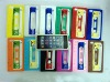 High quality Mobile phone silicone Cassette Tape case for iphone 5 5G accessories