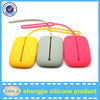 Colorful silicone pouch pack for keys and card