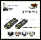Brand-New mini android tv box full hd media player 1080p mk802ii