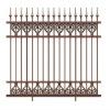 Europe Style aluminum outddor garden fence