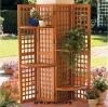 (W-SC-08) wooden outdoor screen