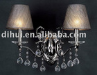 2012 hot sale crystal wall light DW-0111-2