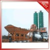 HZS series hot sale mobile concrete batching mixing plant