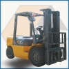 Chinese Forklift with 4t Capacity Japanese Engine Container mast
