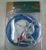 emergency steel tow rope with glove