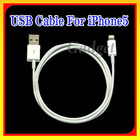 USB 2.0 Cable for iphone 5 USB cable 8 pin to USB for iPhone5,for ipod touch 5 ,for ipod nano 7 (not original) with Top Quality
