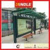 OEM Stainless Steel bus shelter freestanding/flush bonding