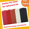 Italian PU shelf-like design phone case ,mobile phone case