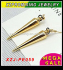 Gothic Spike Punk Rock Bullet Earring for women/men