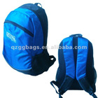 Fluorescent Pigment Blue Simple Backpacks