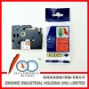 Compatible for laminated TZ label printer tape 12mm