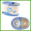 2012 cute dolphin printing 360 magic spin mop new design magic mop bucket