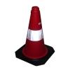 Plastic road cone