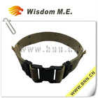 Army Belt/ Camouflage Canvas Belt/ Pistol Belt