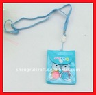 Soft Cartoon Lanyard PVC Pouch