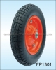 Air pneumatic wheels suitable for low speed applications,rubber wheel