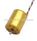 12mm 3 phase micro DC Brushless motor with Interior Rotor used for toys and more