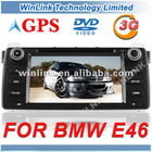 Wholesale 7'' HD Touch screen 2 din gps navigation system for BMW3(E46)(1998-2006) with 3G function optional