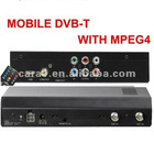 High speed MPEG4 DVB-T receiver/dvb-t box,digital tv tuner