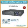 Professional Dual-core based 8ch 1080P 2U HD-SDI Standalone DVR, DVR-9108HDI