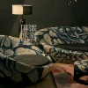 Q319-51Antique Style Living Room Single Sofa