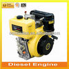 211 cc Air Cooled Electric Start or Kick Start Mini Diesel Engine 4 HP