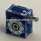 NRV series Aluminum Alloy Worm Gear Box 1:7.5~1:100