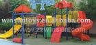 combined slide for amusement park