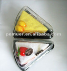 Different color auto air freshener with cake shape on hot sale