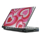 diamond laptop sticker,rhinestone laptop stickers,decorative laptop skin sticker