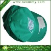 Green sports 100% cotton cap/Embroidered/promotion cap/sport cap