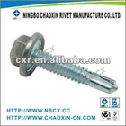 Hex washer head self drilling roofing screw