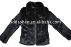 Fashion Lady's Winter Rabbit Coat