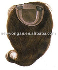 Human indian remy hair silk top closure