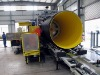 Steel Reinforced Spiral Corrugated Pipe Machine