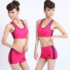 ladies and girls seamless short yoga sport bra
