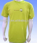 Rpet new design men's popular light green T-shirt