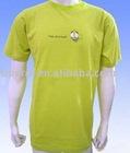 Rpet new design men's popular light green T-shirt