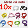 lighting coulorful data cable for Iphone 4
